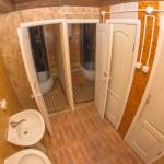 гостиница туалеты и душевые