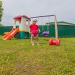 территория детская площадка
